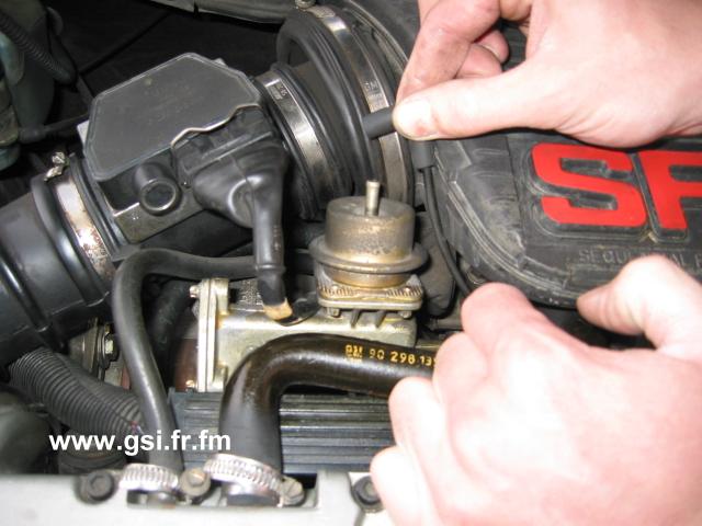 Opel kadett gsi turbo16v for Augmenter la pression d eau